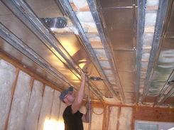Conventional Housing Hydronic Radiant Ceiling Talbott